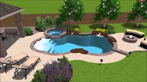 exterior custom builds swimming pools from ortiz pools design
