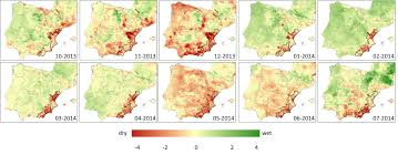 Southeastern Europe Map by Exceptional Drought In South Eastern Spain European Commission