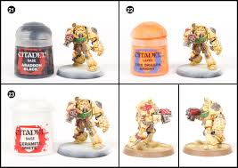 tutorial how to paint deathwing terminators from dark vengeance