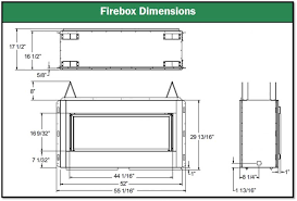 Standard Fireplace Dimensions by Download Fireplace Sizes Garden Design