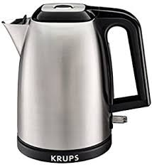 Silver Toaster And Kettle Set Amazon Com Krups Kh734d Breakfast Set 4 Slot Toaster With Brushed