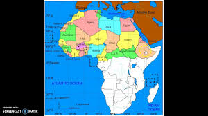 Africa Political Map by Africa Political Map Youtube