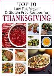 10 low vegan gluten free thanksgiving recipes
