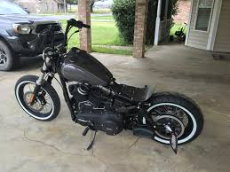 this is a 2014 street bob dyna fxdb the color is called pearl