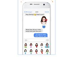 animated emoticons for android ommy create and animated emoticons from your own selfie on