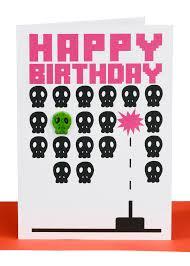 happy birthday greeting card pacman lbb 038 lil u0027s cards