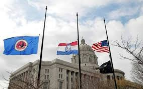 Misouri Flag Cole County Mo Reverses Decision And Will Fly Flags At Half