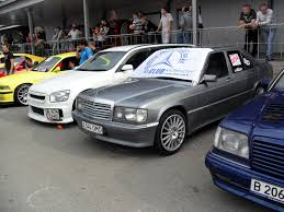 mercedes benz 190e w201 amg on carlsson rims benztuning