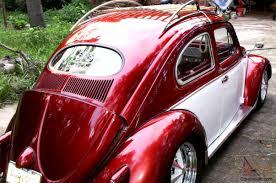 volkswagen beetle red volkswagen beetle deluxe