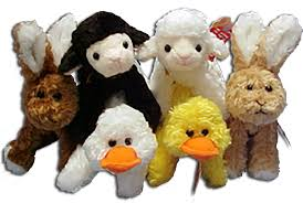 stuffed bunnies for easter cuddly collectibles easter plush bunnies lambs ducks