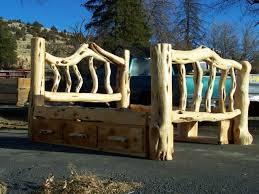 Log Queen Bed Frame 52 Best Log Beds Images On Pinterest Bed Frames Furniture Ideas