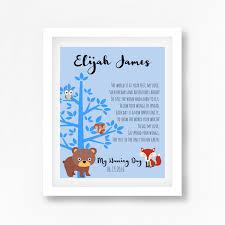 Naming Ceremony Invitation Card Naming Ceremony Gift Naming Day Poem Baby Boy Baptism Gift