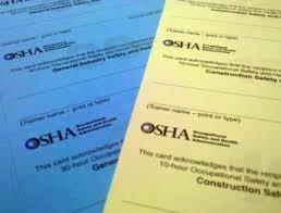 how to print osha 10 hour cards