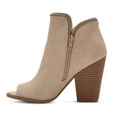 target womens boots zipper dv target