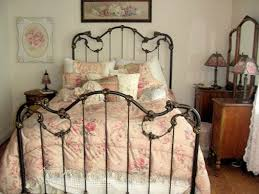 Shabby Chic Metal Bed Frame 159 best iron beds victorian images on pinterest bedrooms