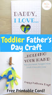 toddler father u0027s day craft mama of littles
