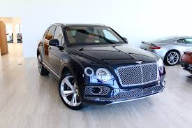 bentley suv inside 2018 bentley bentayga w12 signature stock 8n017210 for sale near