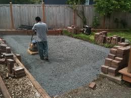 Patio Paver Blocks Installing Patio Blocks Free Home Decor Techhungry Us