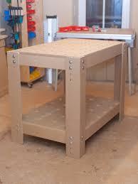 Kleiner Arbeitstisch Arbeitstisch Mit Lochplatte Eigenbaukombinat Werkbank