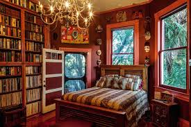Library Bedroom Parks Bowman Mansion The Library Houses For Rent In New Orleans