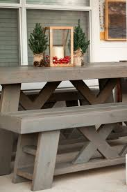 outdoor table bench set picnic tables and picnic benches table