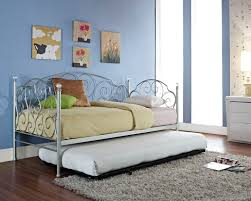 Metal Daybed With Trundle Bedroom Appealing Cheap Daybeds With Trundle For Inspiring Bed