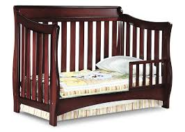 Hudson 3 In 1 Convertible Crib With Toddler Rail babies r us toddler bed conversion bertini pembrooke 4in1