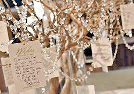 wedding wishes tree wedding d i y delights wedding wish tree hollie your wedding singer