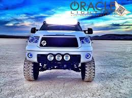 2016 toyota tundra fog light bulb 2014 2016 toyota tundra plasma pre assembled halo fog lights by oracle