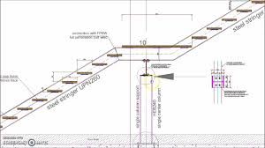 Handrail Construction Detail Sample Drawings Staircase Details Image Stair Detail Handrail Dwg