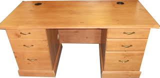 Pine Home Office Furniture by French Gardens Executive Desk In Oak Or Odessa Pine Home