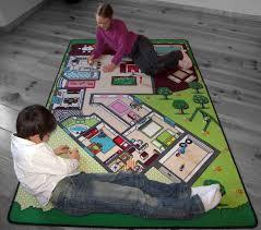 maison du tapis tapitom tapis de jeu plan de la maison 130 x 200 cm