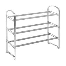 steel storage shelves chrome shoe racks shelves shoe storage closet storage for home