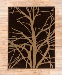 Brown Round Rugs by Autumn Twilight Brown U0026 Beige Modern Geometric Comfy Casual