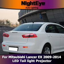 lancer mitsubishi 2009 nighteye mitsubishi lancer tail lights 2009 2014 lancer ex led