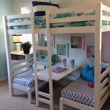 3 Way Bunk Bed Loft Bed With Desk Do It Yourself Home Projects From Ana