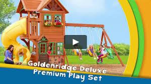 goldenridge deluxe play set on vimeo