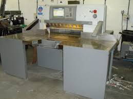 guillotines used finishing machines polar 92 x guillotine