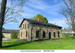 Vermont House This House Valley Forge National Historical Stock Photo 101073364
