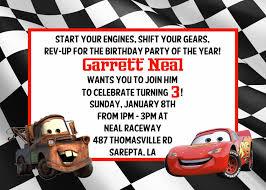 disney cars birthday invitations u2013 gangcraft net