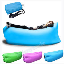 Sofa Bed Inflatable inflatable camping sleeping lay bag hangout instant chair couch