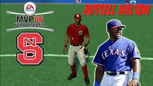 ea sports mvp 06 ncaa baseball hd russell wilson vs jameis