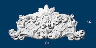 plaster ornaments bor018
