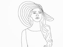 celebrity colouring pages funycoloring