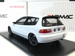 honda car models tarmac works 1 18 spoon gr a racing honda civic eg6 white with