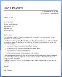computer programmer cover letter create cover letter sample
