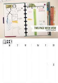 2014 planner template two page week 5 5 x 8 5 diy planner template planners two page week 5 5 x 8 5 diy planner template