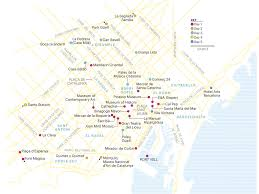 Girona Spain Map by