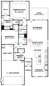 kendall park floorplan 1868 sq ft del webb charleston