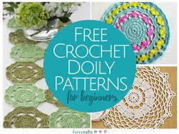 13 free crochet doily patterns for beginners favecrafts com